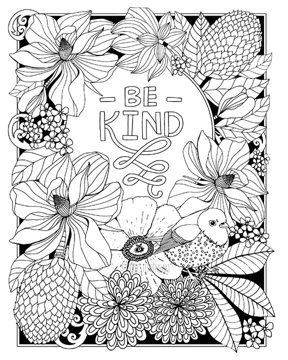 Coloring Pages Carrie Stephens Art Portfolio